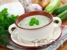 Рецепта Таратор / студена супа с кисело мляко, копър, чесън и тиквички